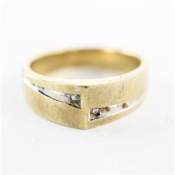 Estate 10kt Band Ring 6.14gr