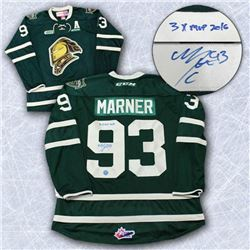 Mitch Marner 2016 London Knights Jersey 3x MVP Ins
