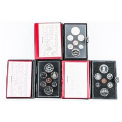 Group (3) RCM Specimen Coin Sets, leather Case 197