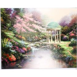 Thomas Kinkade (1958-2012) Canvas Giclee Fine Art