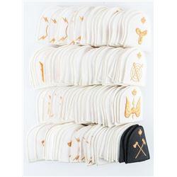 Lot (100) Mixed R.C.N Trade Badges