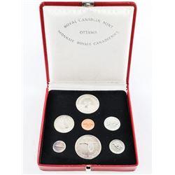 1867-1967 Silver Specimen Set with Silver Medallio