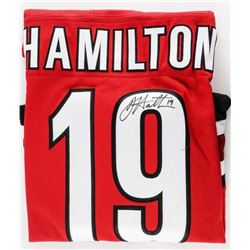 DOUG HAMILTON - Adidas PRO Jersey Carolina Signed