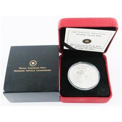 RCM 2007 .999 Fine Silver $20.00 Coin 'Holiday Sle