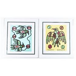 Christian Morrisseau (1969-) Serigraphic Artist Pr