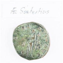 Ancient Roman Coin - 'Sestertius Maximinus' Thrax