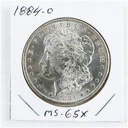 1884 (O) USA Morgan Dollar MS-65x