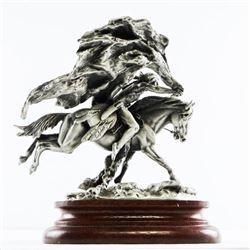 CHILMARK - Polland Fine Pewter Sculpture 'Buffalo