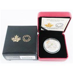 2014 .9999 Fine Silver $10.00 Coin 'Green Darner'