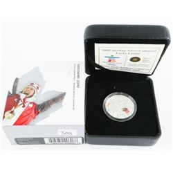 2008-925 Sterling Silver Lucky Loonie