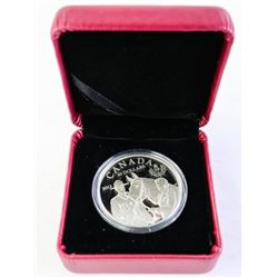 2012 $20 QUEEN'S VISIT TO CANADA - PURE SILVER COI