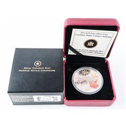 2013 $20.00 Fine Silver Coin - Canadian Maple Cano
