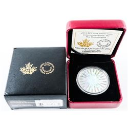 2014 $20.00 .9999 Fine Silver Coin Interconnection