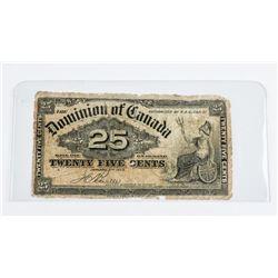 Dominion of Canada 1900 - 25 Cents 'Boville'