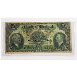 Bank of Montreal 1935 5.00