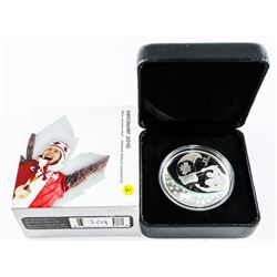 2007 $25.00 Silver Coin 'Olympic Games: Athletes'