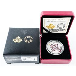 2014 $10.00 Fine Silver Coin First Nations Art: Sa