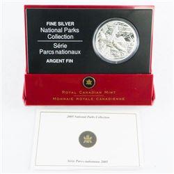 2005 RCM .9999 Fine Silver $20.00 Coin 'Pacific Ri