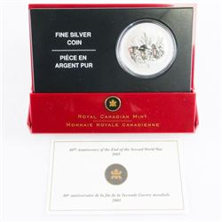 .999 Fine Silver $5.00 Coin '60th Anniversary End