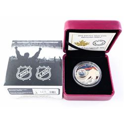 2015 $10.00 .999 Fine Silver Coin 'Edmonton Oilers