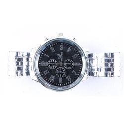 Gents New Quartz Watch Panther Style Bracelet