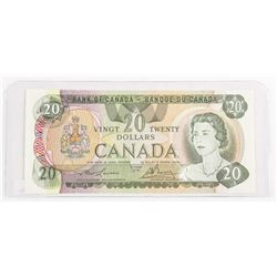 Bank of Canada 1979 Twenty Dollar Note Lawson