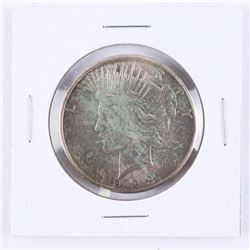 1923(S) Silver Peace Dollar (MS60)