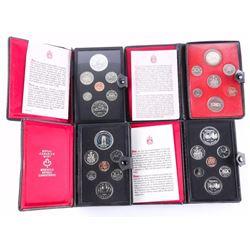 Group of (4) RCM Prestige Coin Sets - 1973, 1974,