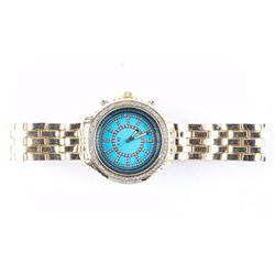 Unisex - Quartz Watch Panther Bracelet with Swarov