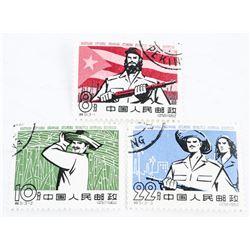 China Stamps - Scott - 351-354. US CAT 160
