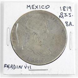 Mexico 18019(M) O.J.J. 8R Ferdin VII