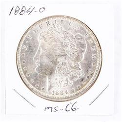 1884-O USA Silver Morgan Dollar. MS-66