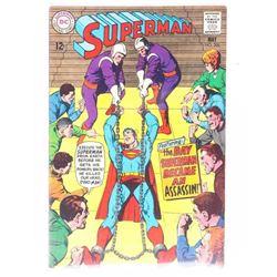 DC Superman Comic May No. 206 12 cents