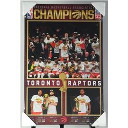 Toronto Raptors Champions 2019 Collector Plaque 22
