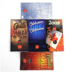 RCM Canada Day 25 Cent Folios Group of (5) Sealed;
