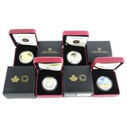 Group of (4) .9999 Fine Silver Coins 2x$10.00 - 1x
