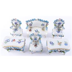 Germany Estate 6pc Miniature (OXR) Porcelain, Sett