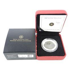RCM 2007 4.00 .9999 Fine Silver Coin 'Parasaurolop
