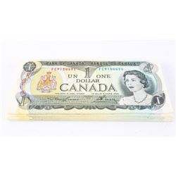 Group of (50) Bank of Canada 1973 1.00 UNC Mixed