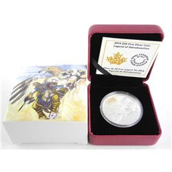 .9999 Fine Silver $20.00 Coin Legend of Nanaboozho