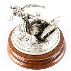 Chilmark - Fine Pewter by 'Polland' C1981 Sculptur