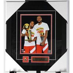 "Toronto Raptors MVP 8x10"" Leonard and Lowry Colle"
