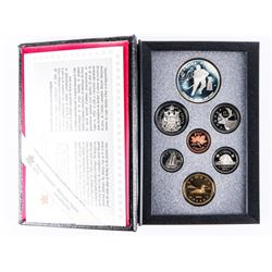 RCM 1993 Proof Coin Set - Silver