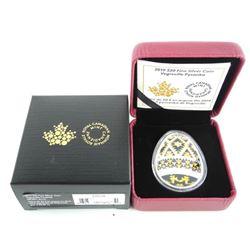 2019 .9999 Fine Silver $20.00 Coin Vegreville Pysa
