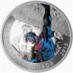 DC Comics .9999 Fine Silver $20.00 Coin 'Superman
