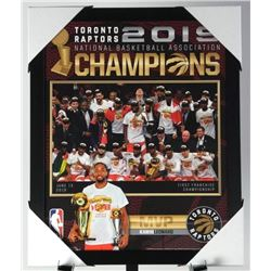 Toronto Raptors Champions Collector Frame 18x22""