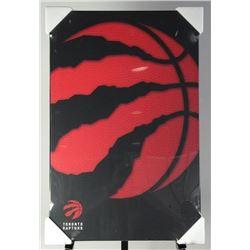 "Toronto Raptors Plaque Claw Logo 22x34"""