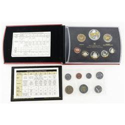 RCM 2005 Proof Coin Set plus UNC PL Set