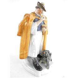 Hendrix 'Hungary' Fine Porcelain Figurine 'Man wit