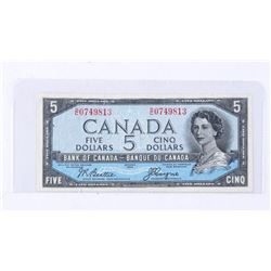 Bank of Canada 1954 5.00 Devil's Face. B/C (GER)